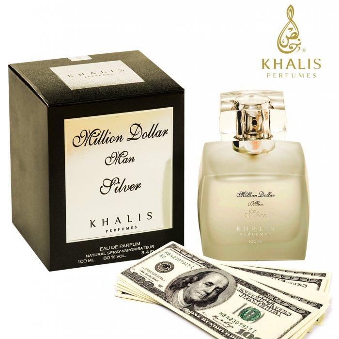 Million Dollar Silver производитель Khalis Perfumes аромат мужской